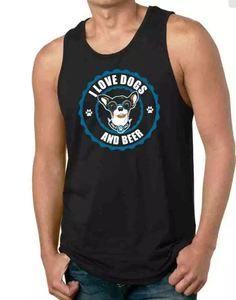 Motley Zoo - I Love Dogs and Beer Tank